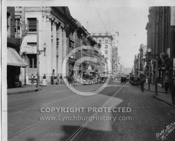Lynchburg - Main Street 900 Block 1920s