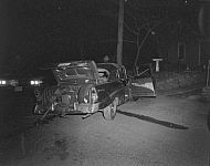 : Auto Hits Pole,  1005 Main St. Madison Heights, April 10