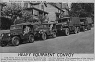 : Army reserves convoy church st