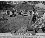 : Dunbar pool construction