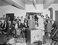: Party, New PAstor, Television, Febuary 4, 1955