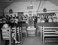 : Sandy Bottom, Christian Church Choir, Sept 1, 1946