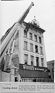 Downtown Revitalization, Woods Building Demolition 1988