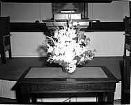: MABEL SPRAADLIN, FLOWER ARRANGEMENT, OCTOBER 19