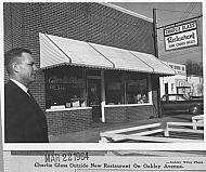 C & S Cafe - Oakley Avenue 1964
