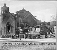 First Christian Church (Disciples of Christ) - Demolition  2