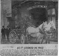 Lynchburg Fire Station - No 2 1903