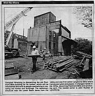 Piedmont Mills - Demolition 1993