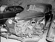 : Harold Singleton - Photos of wrecked car