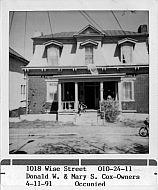 : 1018 Wise street