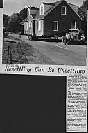Boonsboro Shop Center - Moving House October 25, 1964