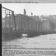 9th Street Bridge - 1917 Flood