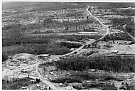 Aerial View Highway 221 - Forest Road