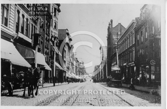 Lynchburg - Main Street - 1900
