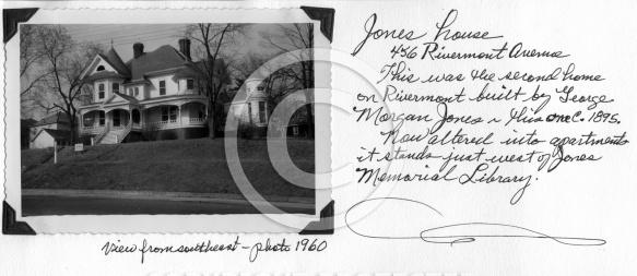 Jones House - 456 Rivermont Avenue