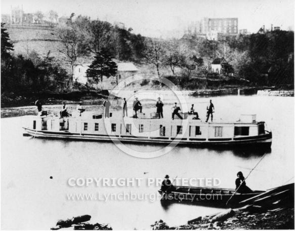 Kanawha Canal - Packet Boat Lexington