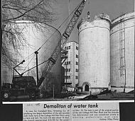 : concrete water tank demo