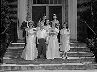 : MISS POTEAT ROOM, MADISON GRADED SCHOOL, KING & QUEEN COURT, MAY