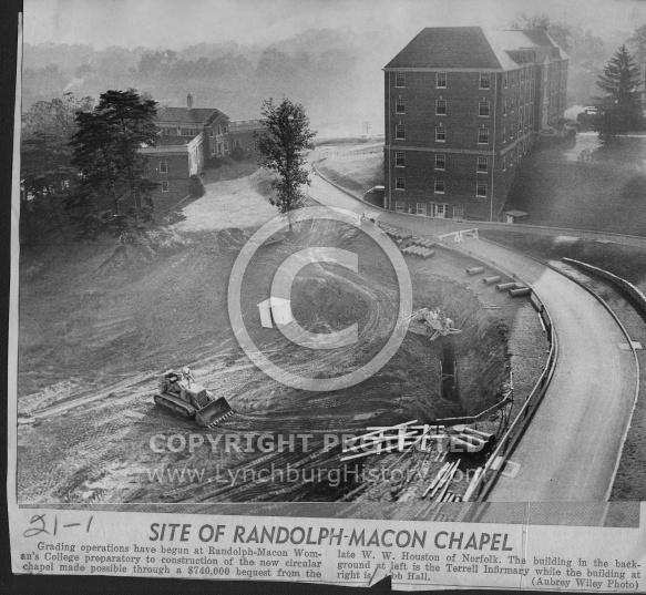 : RMWC chapel site 1967