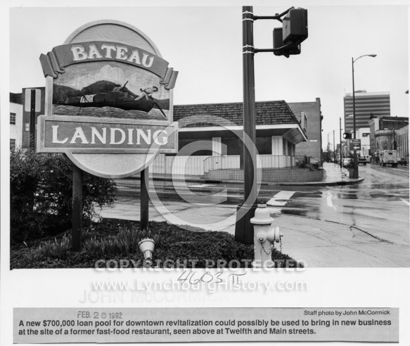 Downtown Revitalization Project -  Hardees 1992