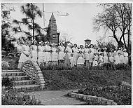 Miller Park - Tulip Festival in 1940s