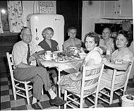 : Powell Family, Oct 1951