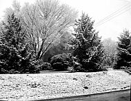 : JOE MILLER HOUSE IN SNOW, DECEMBER 4
