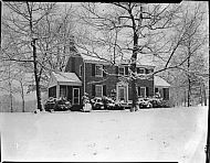 : Mrs. Adams House in Snow
