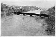 Floods Rail Road Bridge 1960