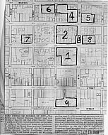 Lynchburg Governmental Complex - Map City Lots 1968