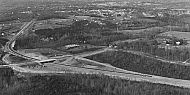 Expressway Construction at Graves Mill Road, 1974