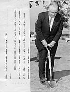 Pittman Plaza - Ground Breaking 1959