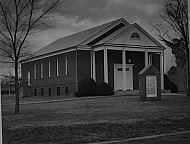 : Calvery Baptist and other church, same st, Concord, VA Nov, 1966