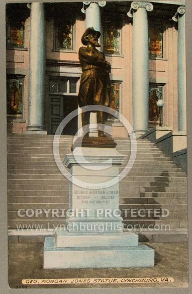 : Statue Jones jg