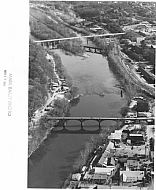 Williams Viaduct Bridge - Aerial 1985