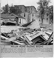Miller Home - Razing 1959