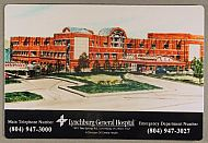 : Hospital Lynch gen magnet jg