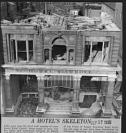 Hotel Carroll - Demolition 1959