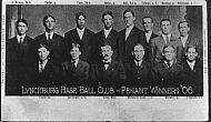 Lynchburg Base Ball Club 1906