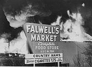 : Fire Falwell's market 2 20 57