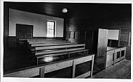 Quaker Meeting House - Interior