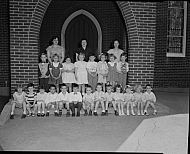 : Kindergarded Class, May 16 1951