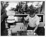 Moores Store - Meat Counter 1981