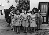 : Poppy Girls, American Legion Post 174, May 20, 1946, Smith Auto