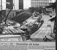 Rivermont Bridge - Demolition 1973