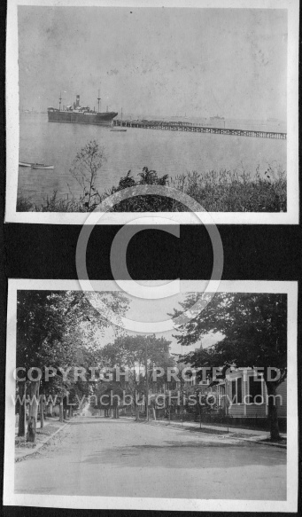 Two Pictures of Newport News Area