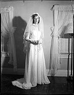 : Louis Arthur Wedding Gown, Aug 22 1951