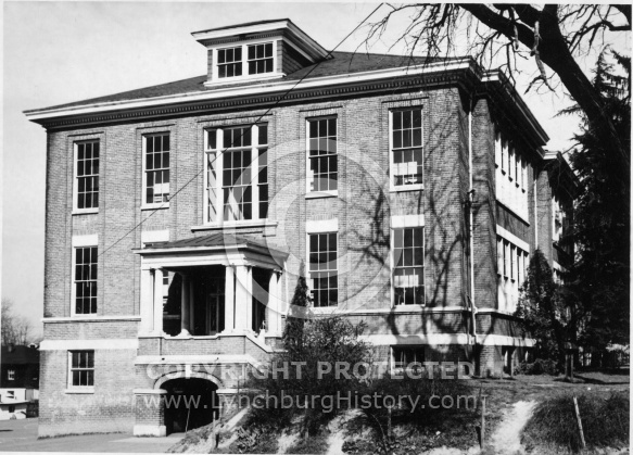: Yoder School, 2nd St and Jackson St.