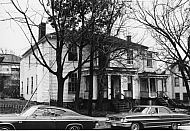 : Harrison St. 400 block, now demolished