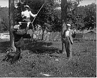 Maurice Mannieblack, Hans, swing at Peaks of Otter